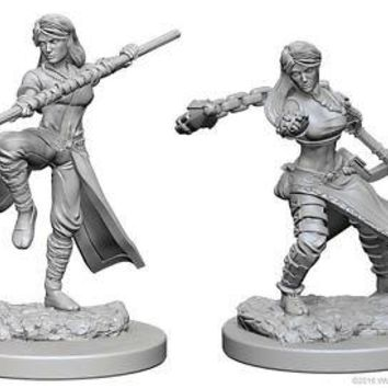 Dungeons & Dragons: Nolzur's Marvelous Unpainted Minis: Human Female Monk