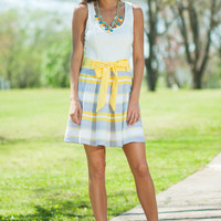 Sunny Day Dress, Yellow