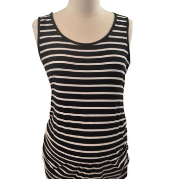 Black & White Stripe Tank Top by OH BABY!