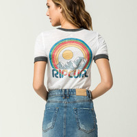 RIP CURL Snow Days Womens Ringer Tee