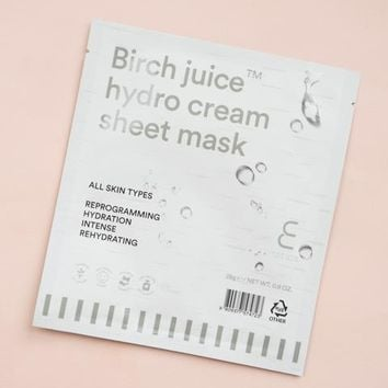 Enature Birch Juice Hydro Cream Sheet Mask – Soko Glam