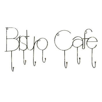Wall Hooks - Bistro Cafe