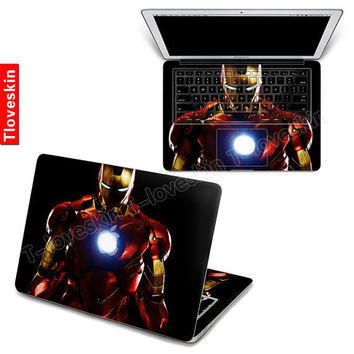 Iron man Decal for Macbook Pro Air or Ipad Stickers by Tloveskin