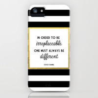 Coco Chanel Quote Cell Phone Case