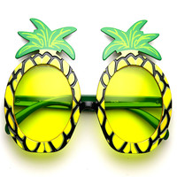 Pineapple Pina Colada Tropical Luau Beach Fun Party Fruit Sunglasses