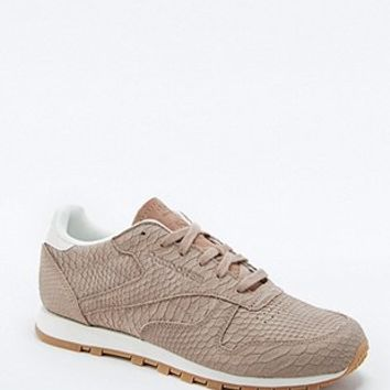 Reebok Exotic Skin Mauve Trainers - Urban Outfitters
