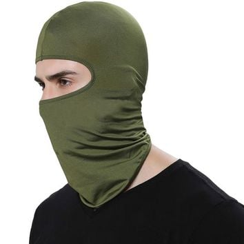 Outdoor Sports Neck Motorcycle Face Mask Winter Warm Ski Snowboard Wind Cap Police Cycling Balaclavas Face Mask