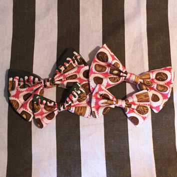 Kawaii Harajuku Sweets Candy Lolita Gyaru Decora Valentines Japanese Alternative Fashion Chocolate Box Hair Bow Tie