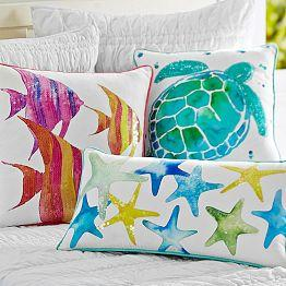 Decorative Pillows, Pillow Covers & from PBteen