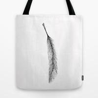 Feather Tote Bag by Salted Seven