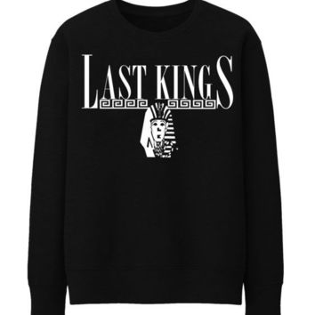 Last Kings Tyler hip hop hipster rap Sweatshirt Top TYGA Men Boys T Shirt - BLACK