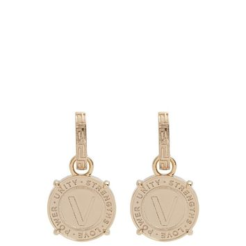 Coin-drop earrings | Versace | MATCHESFASHION.COM US