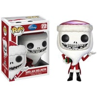 FUNKO POP! VINYL COLLECTIBLE SANTA JACK 72 FIGURE FIGURINE DOLL DISNEY NIGHTMARE BEFORE CHRISTMAS