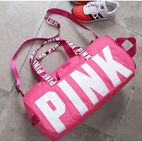 PINK Victoria'S Secret Sports And Fitness Yoga Short Travel Bag
