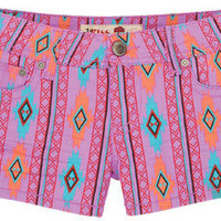 Tribal Purple Short