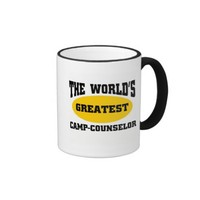 Greatest camp-counsellor classic white coffee mug