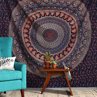Dorm Tapestry Hippy Mandala Bohemian Tapestries Indian Dorm Decor Psychedelic Ta...