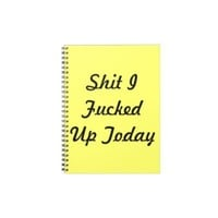 A Journal For The Rest Of Us from Zazzle.com