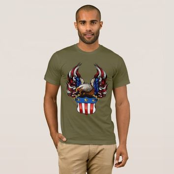 American Eagle, Red White & Blue, Patriot, T-Shirt