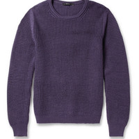Gucci Waffle-Knit Wool and Cashmere-Blend Sweater | MR PORTER