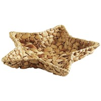 Natural Wicker Star Basket