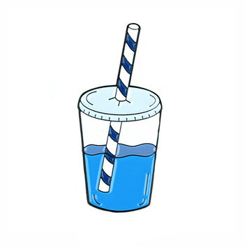 Water Cup Pin