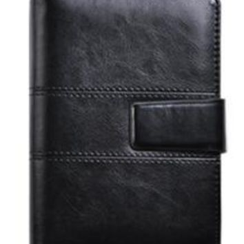 CAGIE Leather Magnetic Buckle Planner