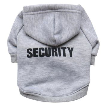 Security Pet Hoodies Dog Clothes Puppy Clothes & Cat Clothes