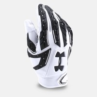 Under Armour Mens UA 2017 Fierce VI Football Gloves Padded Running Back Receiver