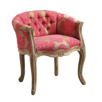 Wake Up Frankie - Lily XIV Hand Carved Chair : Teen Bedding, Pink Bedding, Dorm Bedding, Teen Comforters