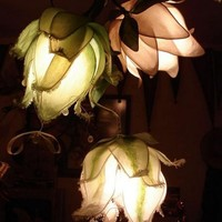 Custom Lotus Lamp by renaeleataylor on Etsy