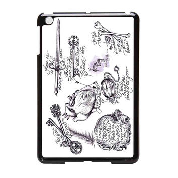 Bring Me To The Horizon Bmth Tattoos iPad Mini Case