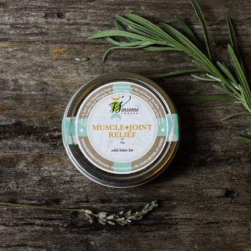 Solid Lotion Bar All Natural, Organic Herbal Essential Oils Beeswax Cocoa Butter rustic brown theteam