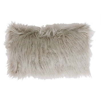 Thro by Marlo Lorenz Keller Faux Mongolian Rectangle Throw Pillow | Overstock.com Shopping - The Best Deals on Throw Pillows