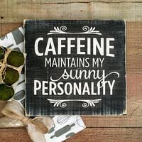 Kitchen Signs,Coffee Lovers,Farmhouse Decor,Kitchen Decor,Coffee Bar Sign,Coffee Quote Sign,Signs about Coffee,Coffee House Decor