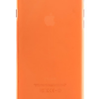 Orange Frosted Transparent Soft Case for iPhone 6