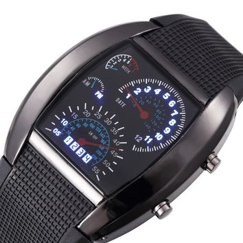 LED Racing Watch