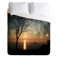 Belle13 The Old Man And The Sea Duvet Cover