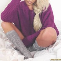 Mystery Sleeping Sweaters: Over-sized Comfy! Order Now! Many Colors & Sizes