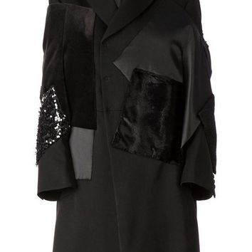 Junya Watanabe Comme Des Gar?ons Stylised Patchwork Overcoat
