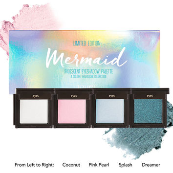 Mermaid Iridescent Eyeshadow Palette | Jouer Cosmetics