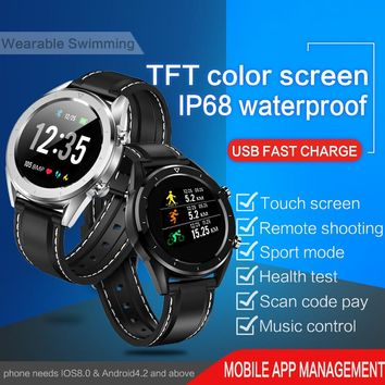 Cheep Bluetooth Android/IOS Phones KSUN KSR901 4G Waterproof GPS Touch Screen Sport Health Smart Watch