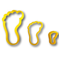 Footprint Cookie Cutter