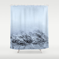 Letting go - cold comfort in Glencoe Shower Curtain by anipani