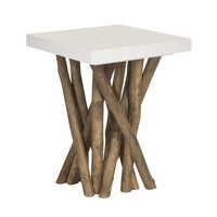 Island Branches End Table
