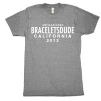 California Logo Graphic T-Shirt ( Athletic Gray)