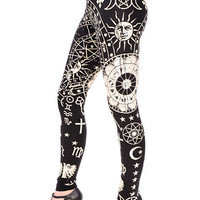 Astrological Zodiac Leggings