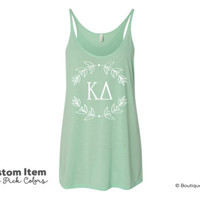 KD Wreath Flowy Tank
