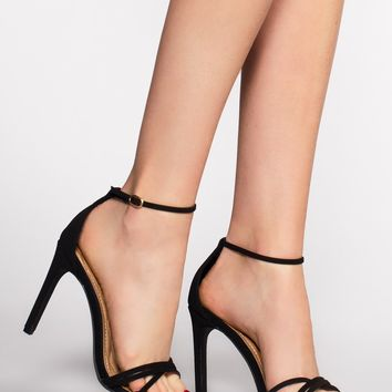 Timeless Heels - Black Suede