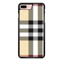 Burberry Pattern iPhone 7 Plus Case